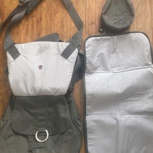 Other - Diaper bag and carrier 2in1